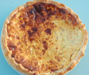 Quiche boursin, bacon,carottes