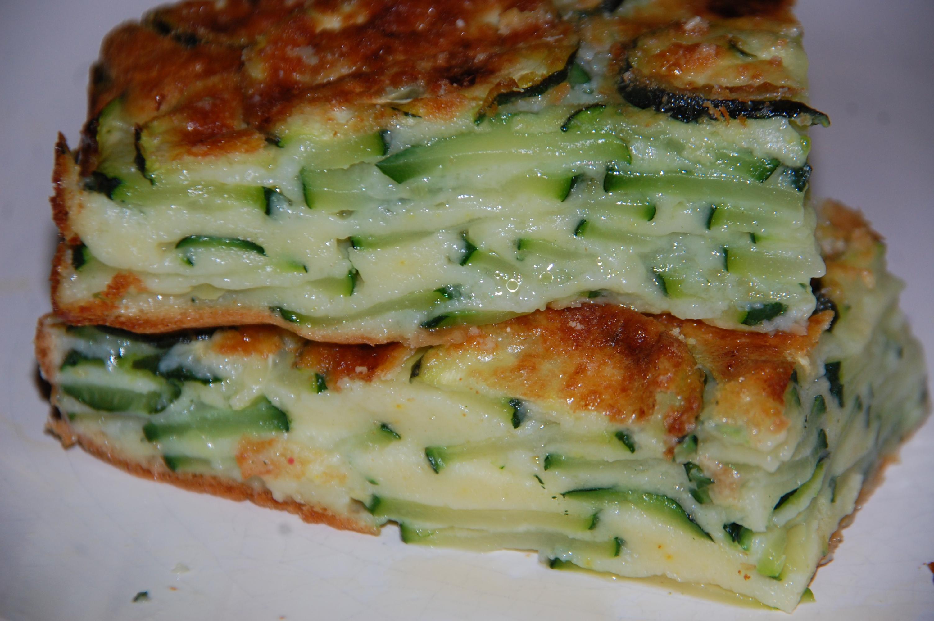 Recette Cake Poisson Courgette