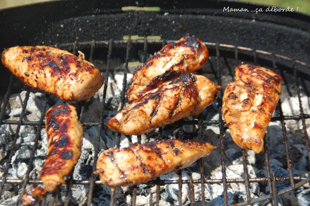 Marinade pour poulet au barbecue maman a d borde for Marinade au paprika pour barbecue