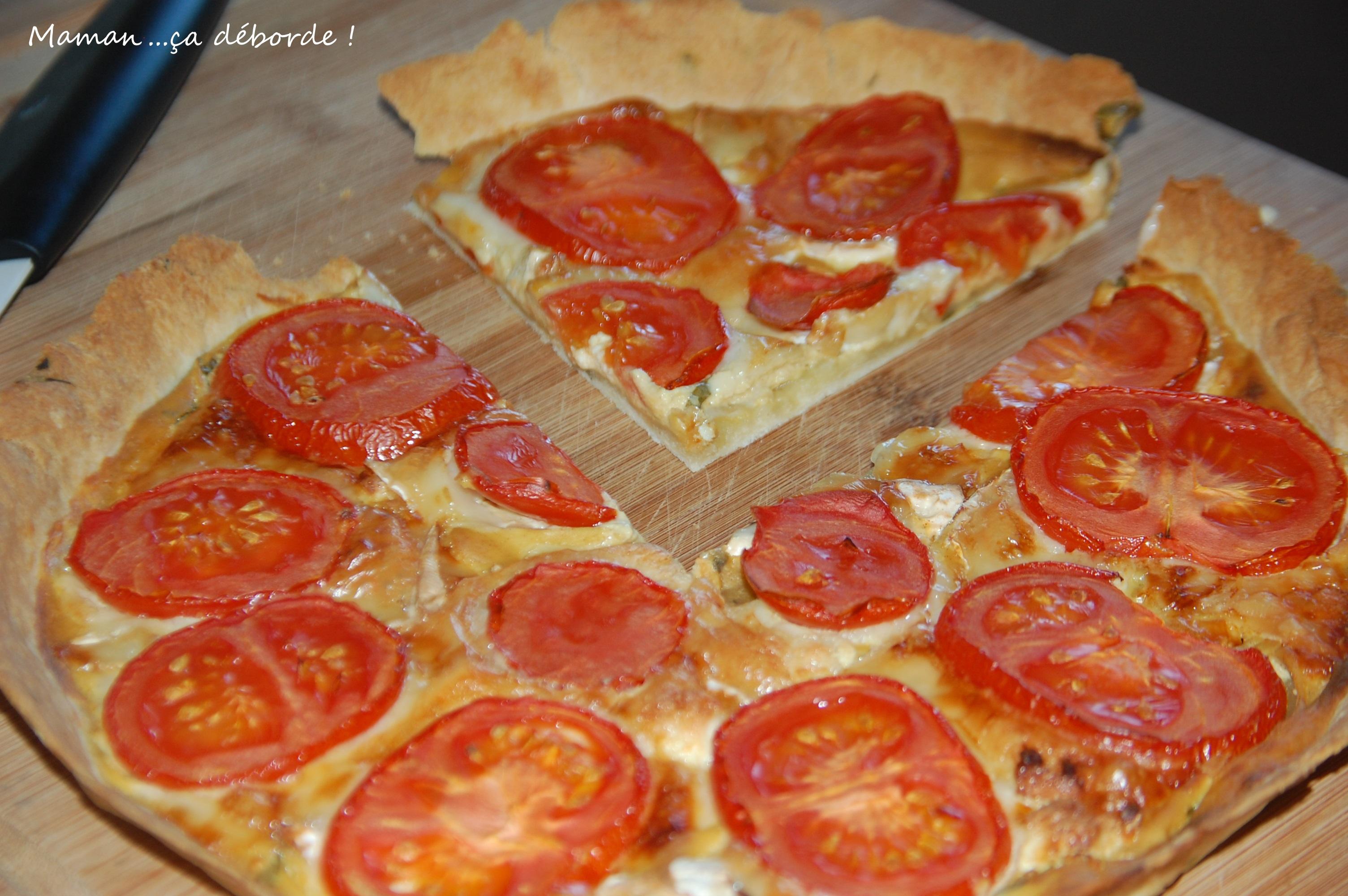 Cake A La Tomate Et Au Chevre