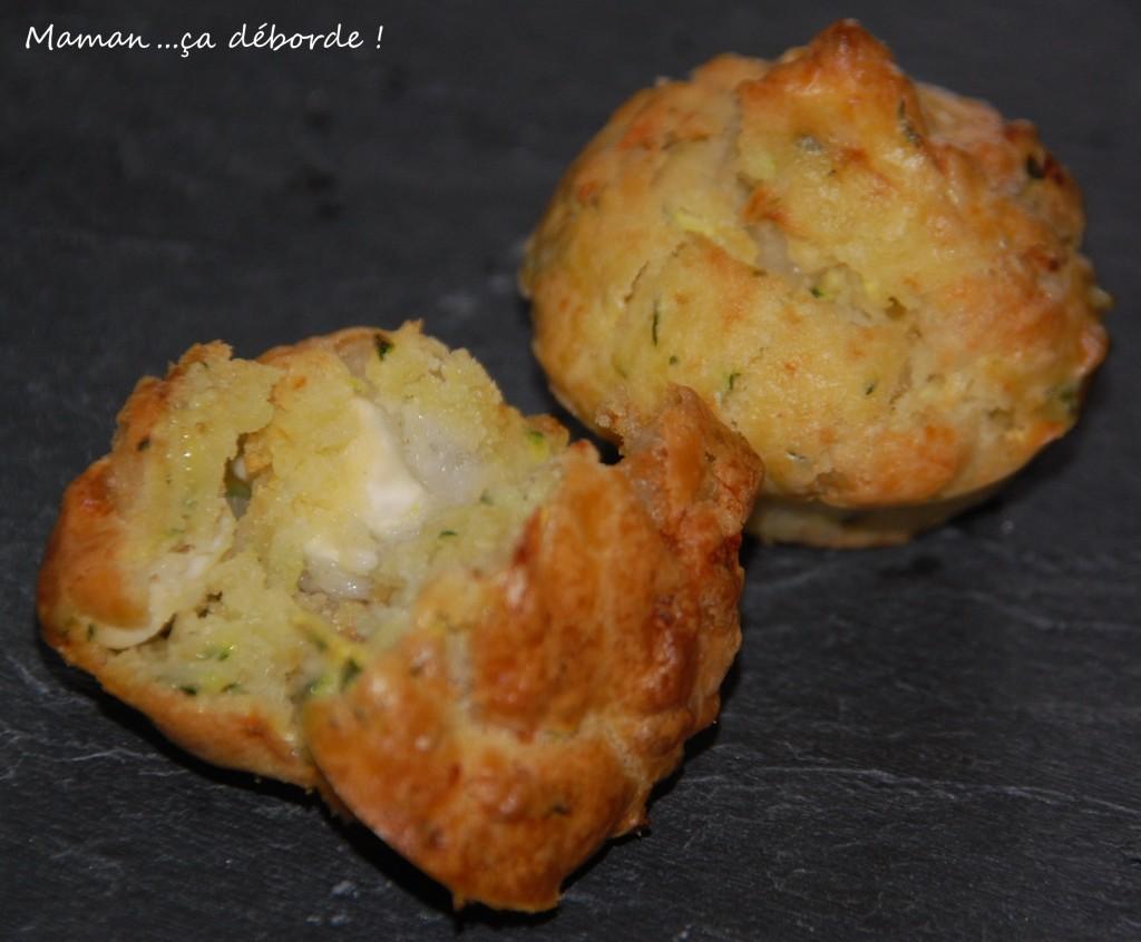 Mini muffins courgette chèvre