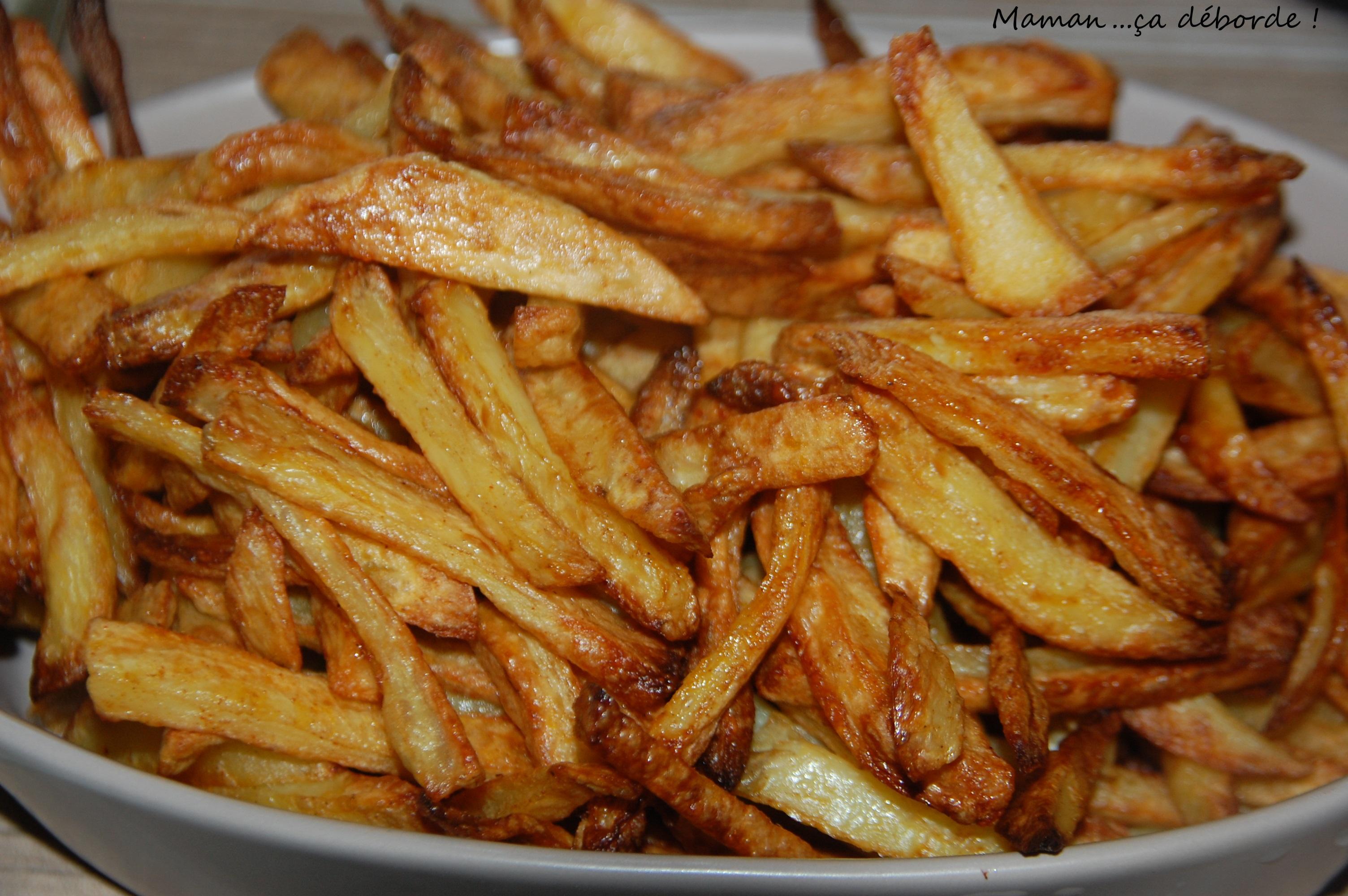 Moules frites maman a d borde - Frites pour friteuse au four ...