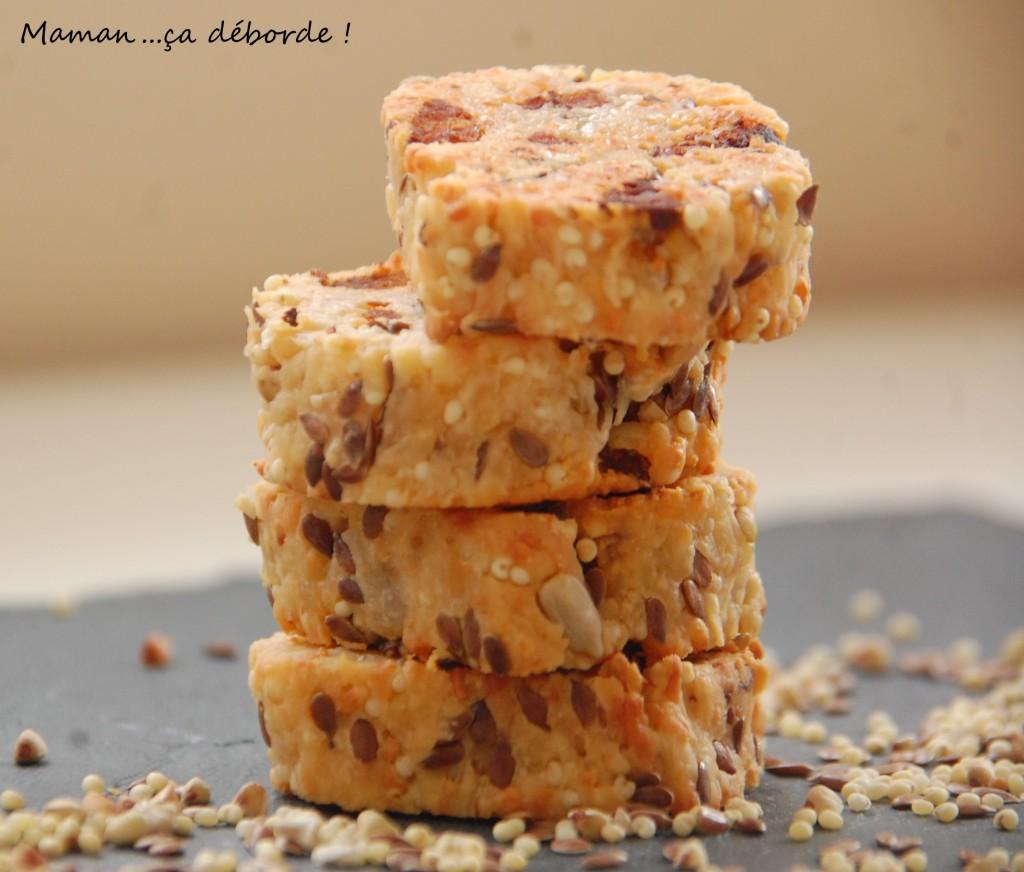 Biscuits crousti-moelleux au chorizo