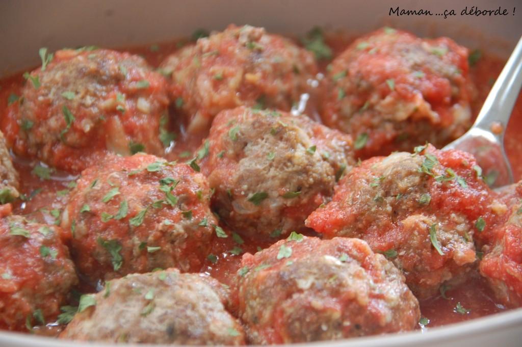 Boulettes de viande à la grecque (keftedakia)