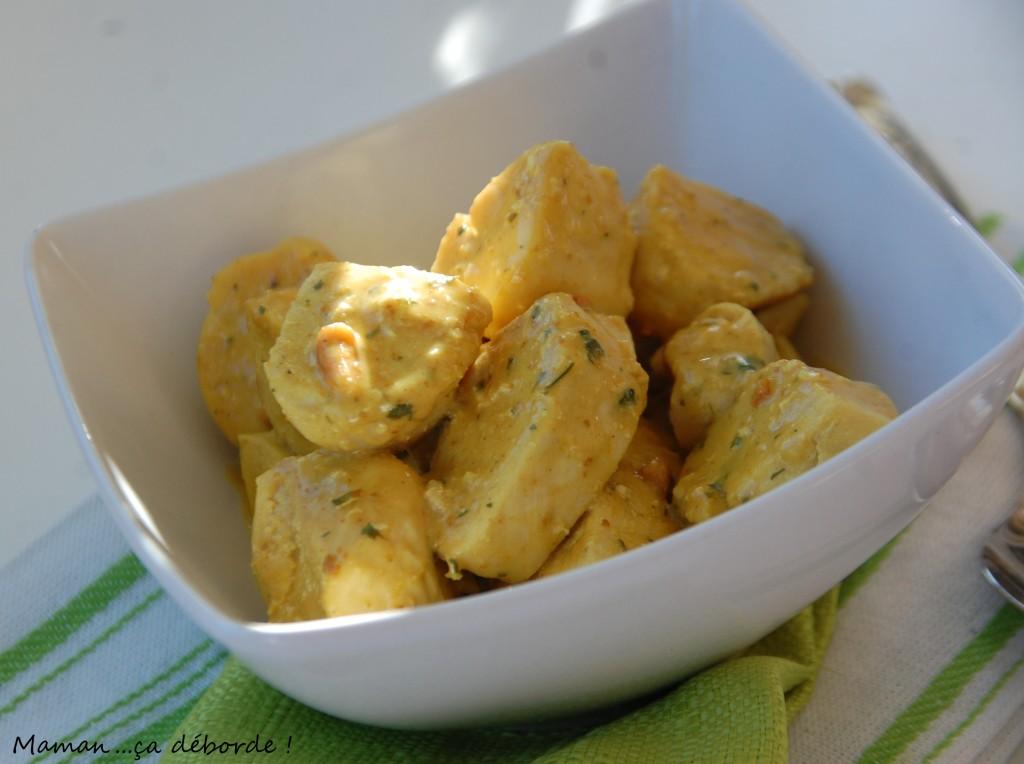 Colombo de poulet au beurre de cacahuètes