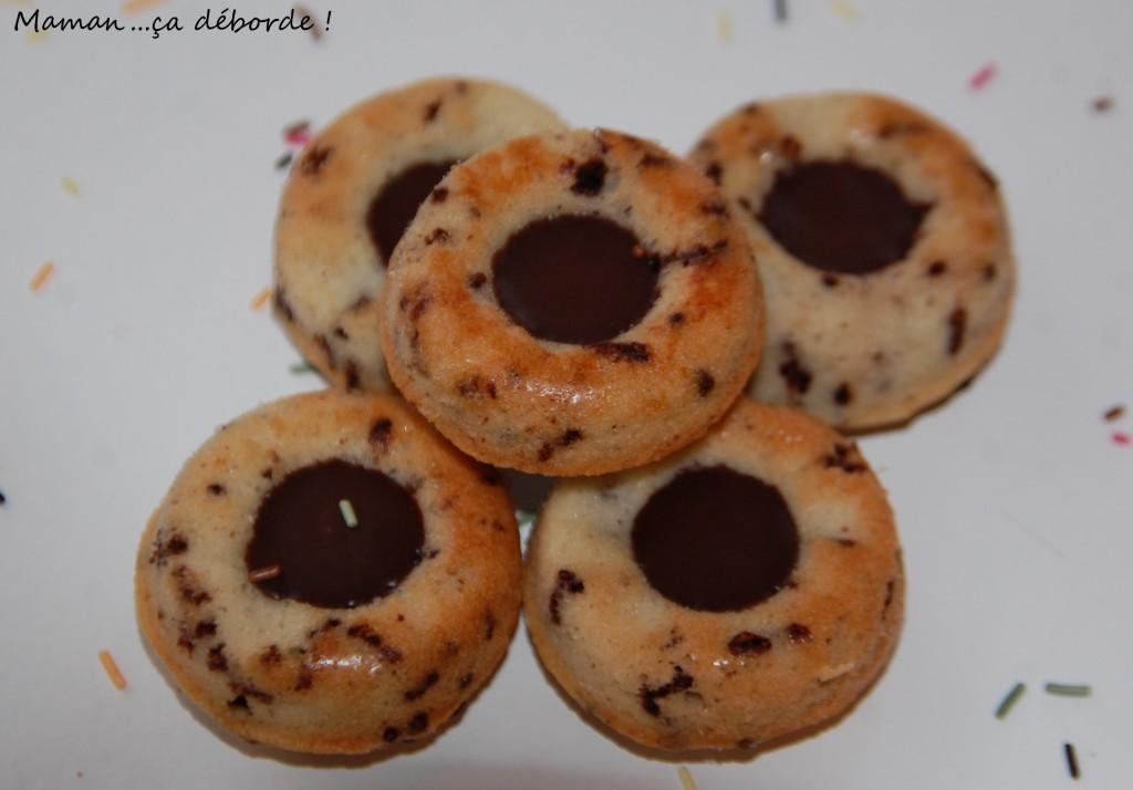 Financier tigré coeur chocolat
