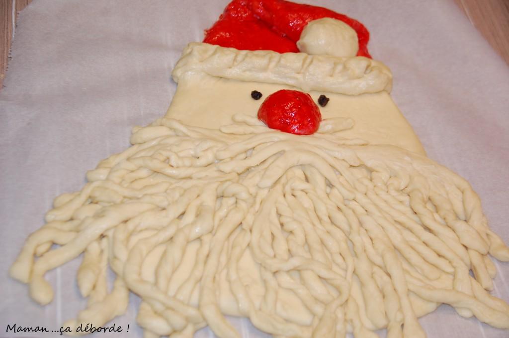 Père Noël en brioche4