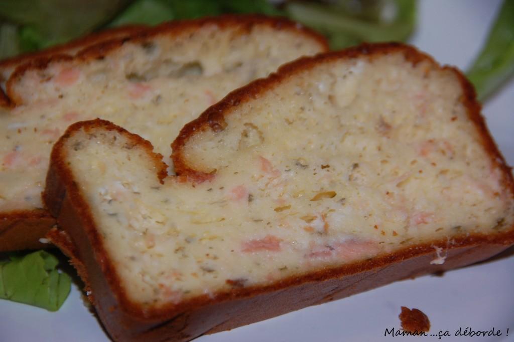 Cake saumon et boursin