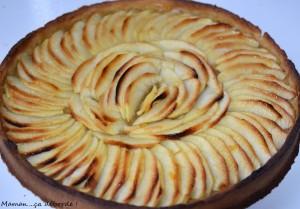 Tarte aux pommes4