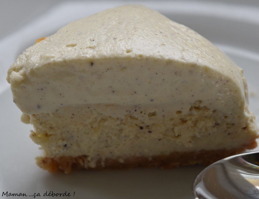 Cheesecake double vanille