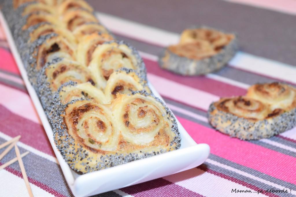 Palmier aux sardines