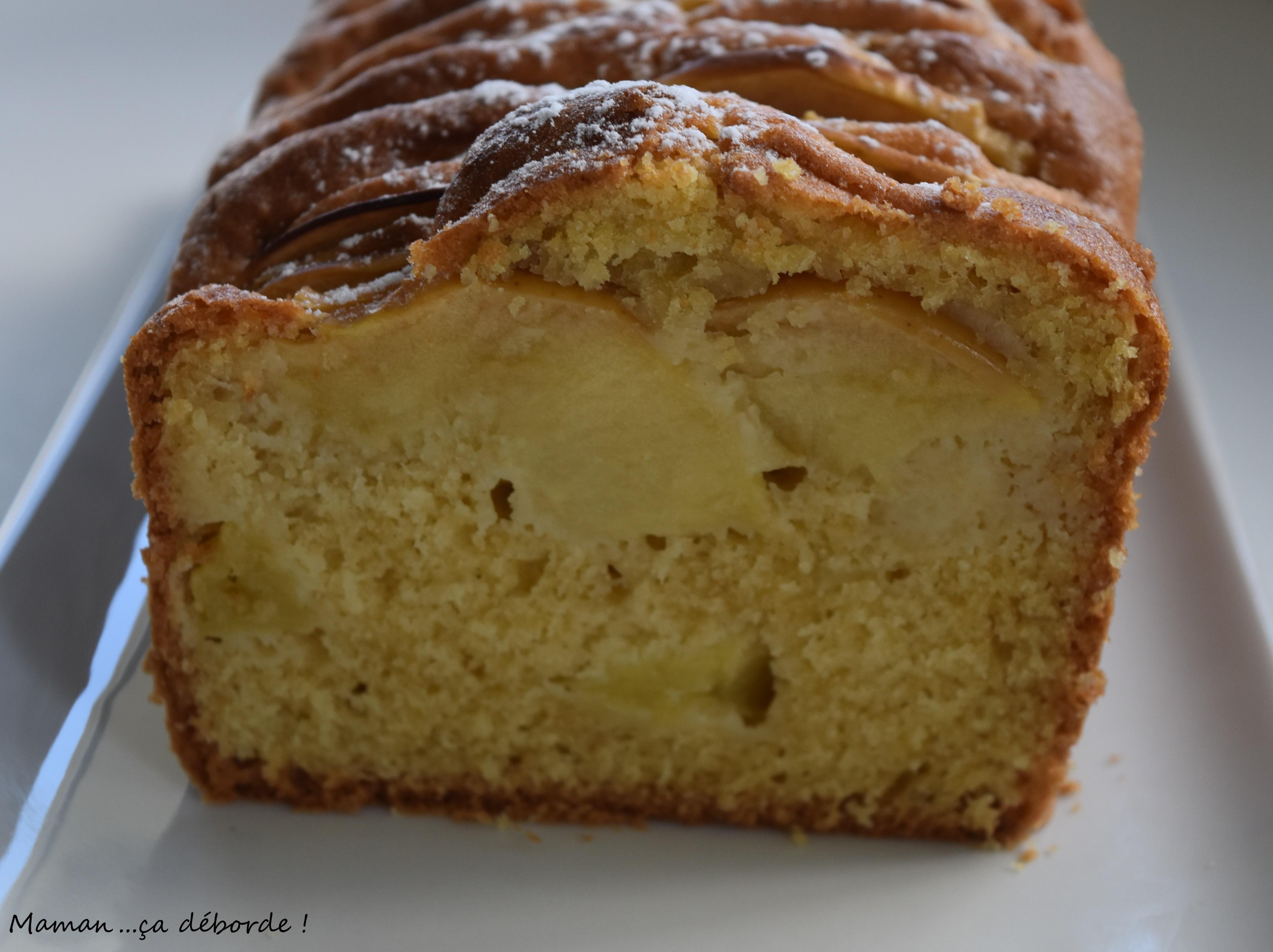 Cake Vanille Pommes