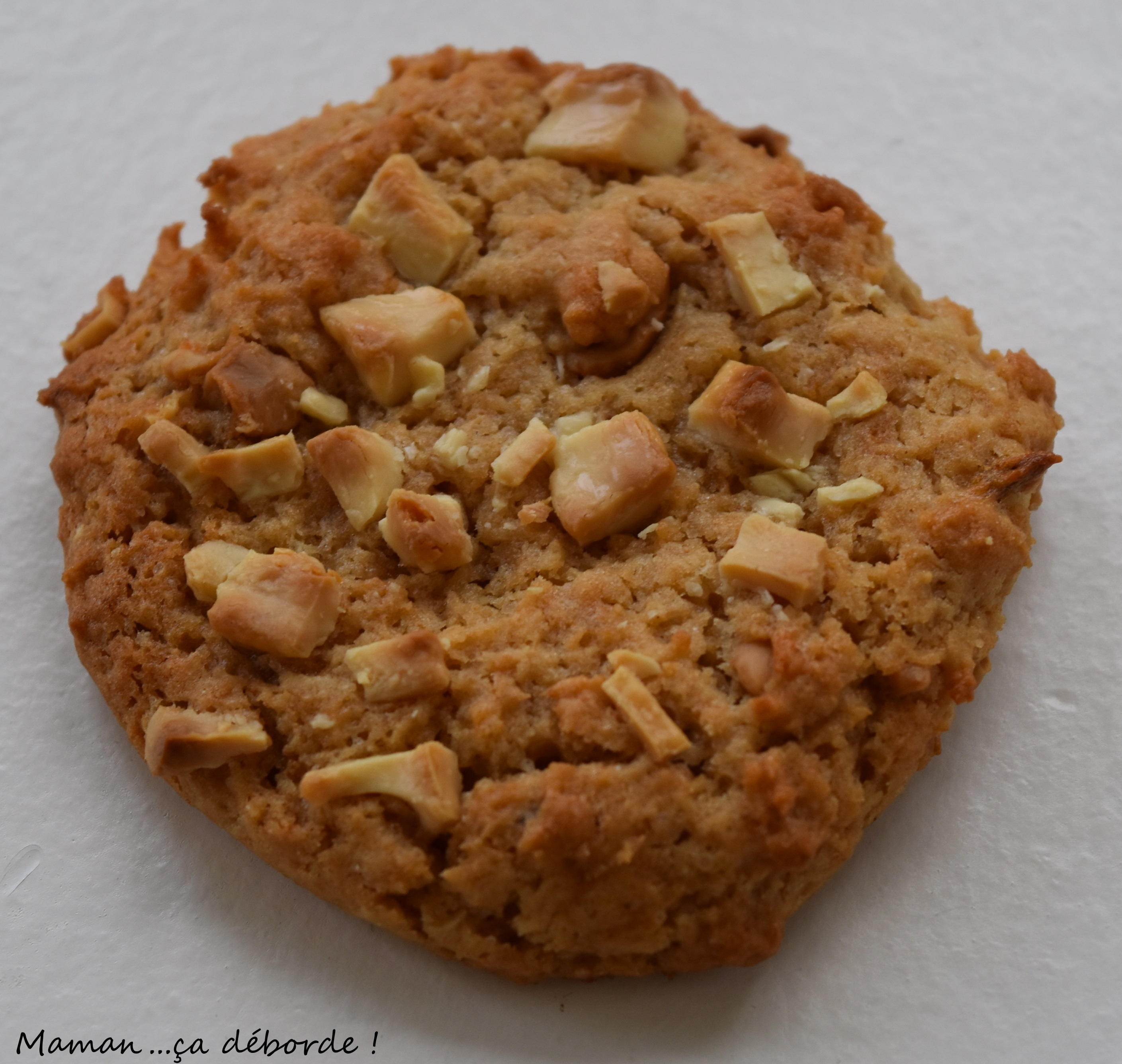 Cookies banane et beurre de cacahu tes vegan maman - Cookies beurre de cacahuete ...