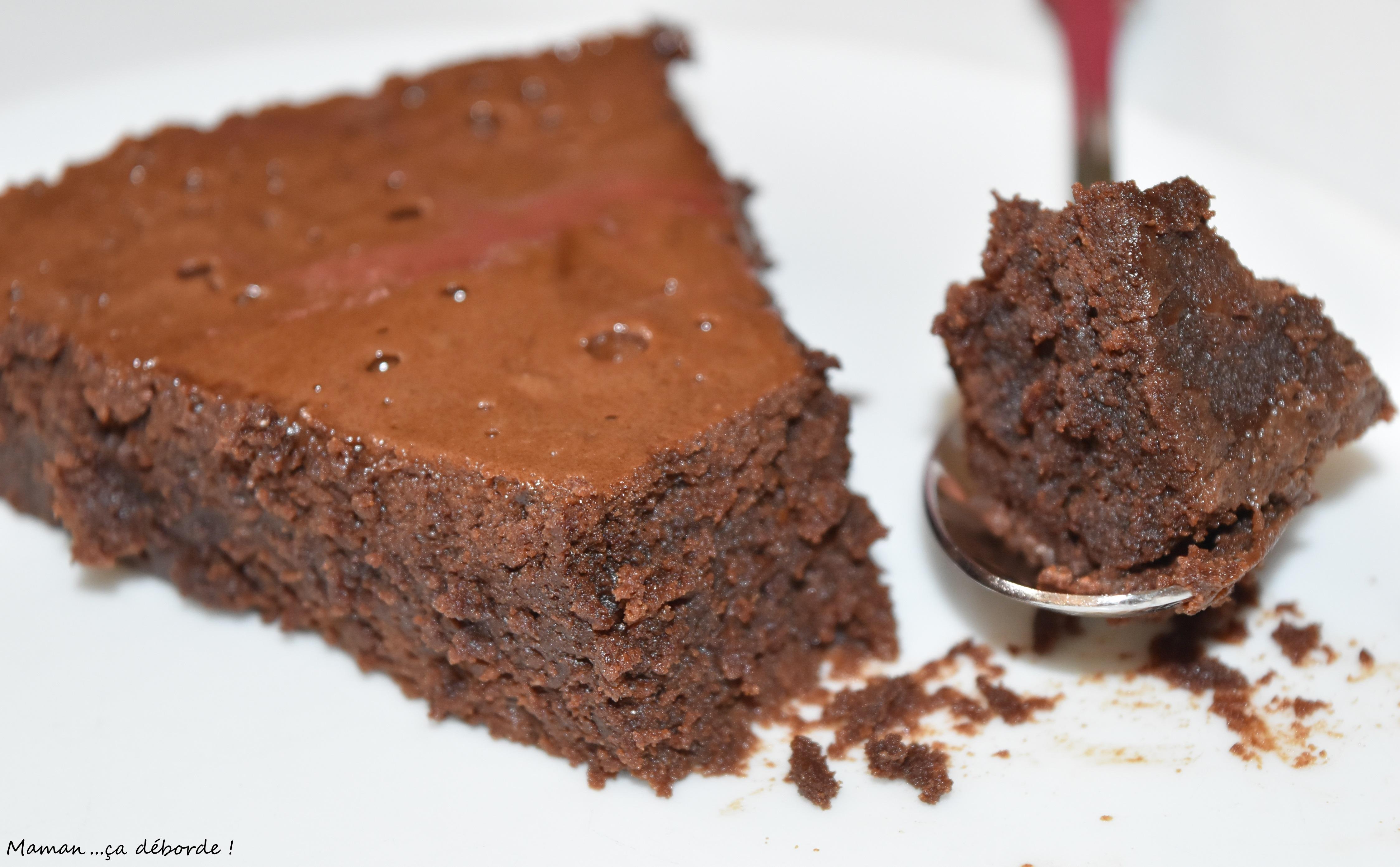 Fondant au chocolat ig bas maman a d borde - Recette d un fondant au chocolat ...