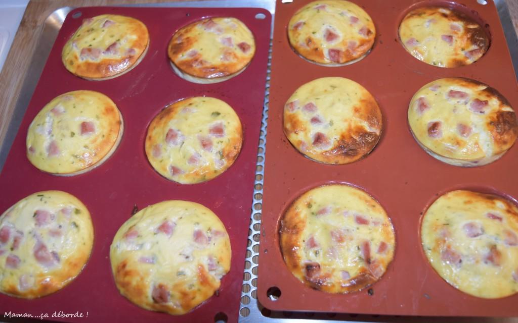 Tartelette soufflée jambon fromage3