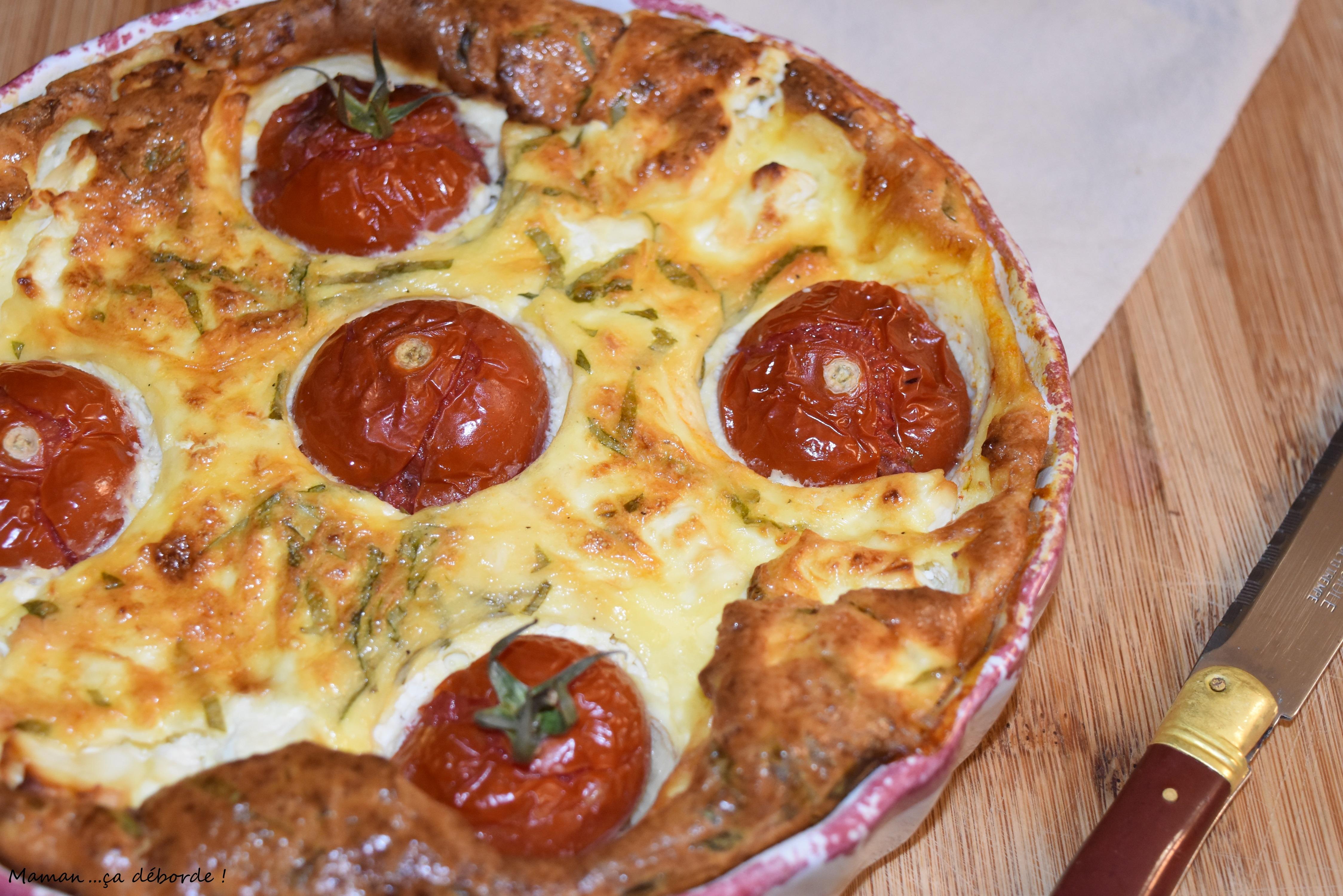 Clafoutis tomates et feta1