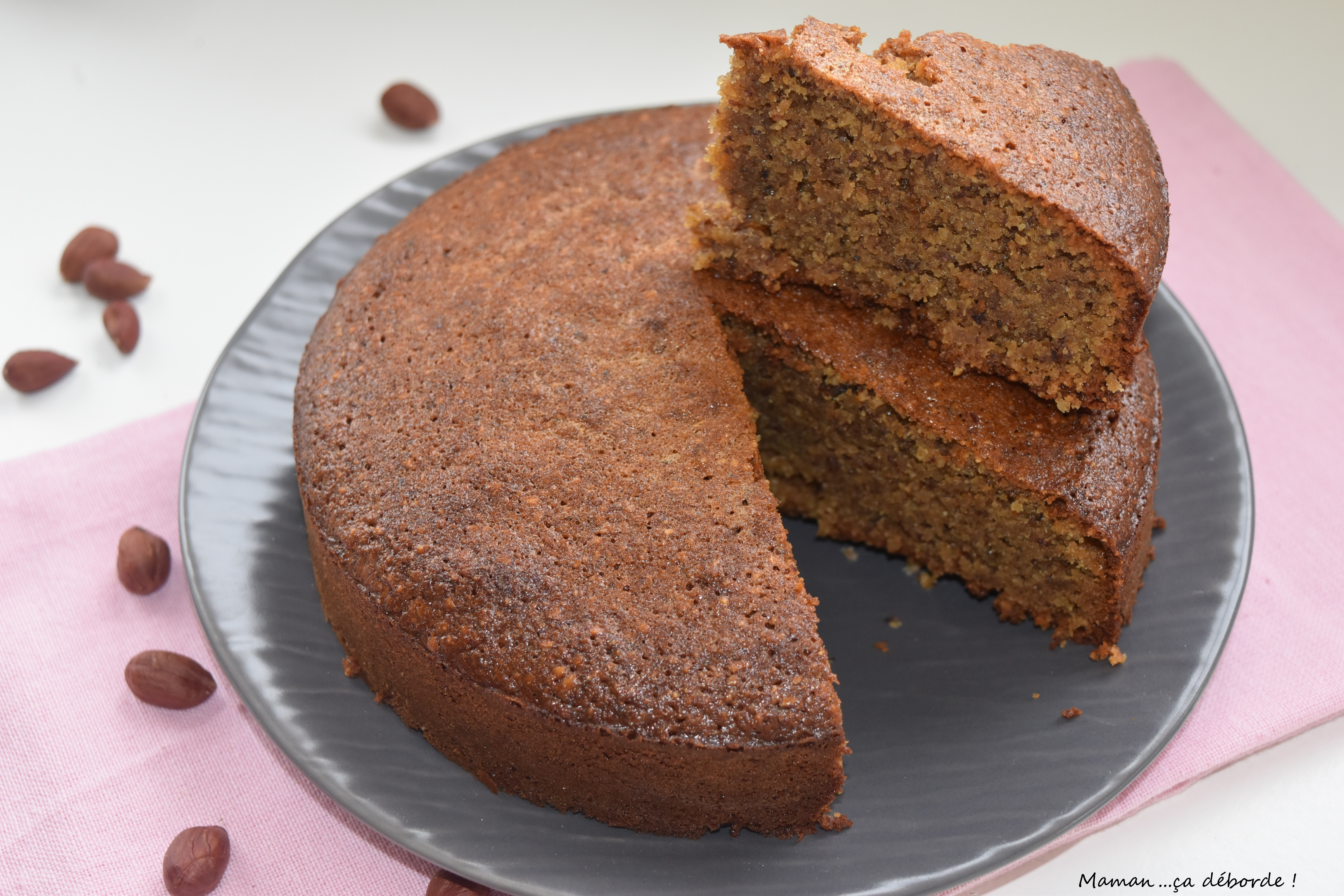Gâteau aux noisettes et miel5