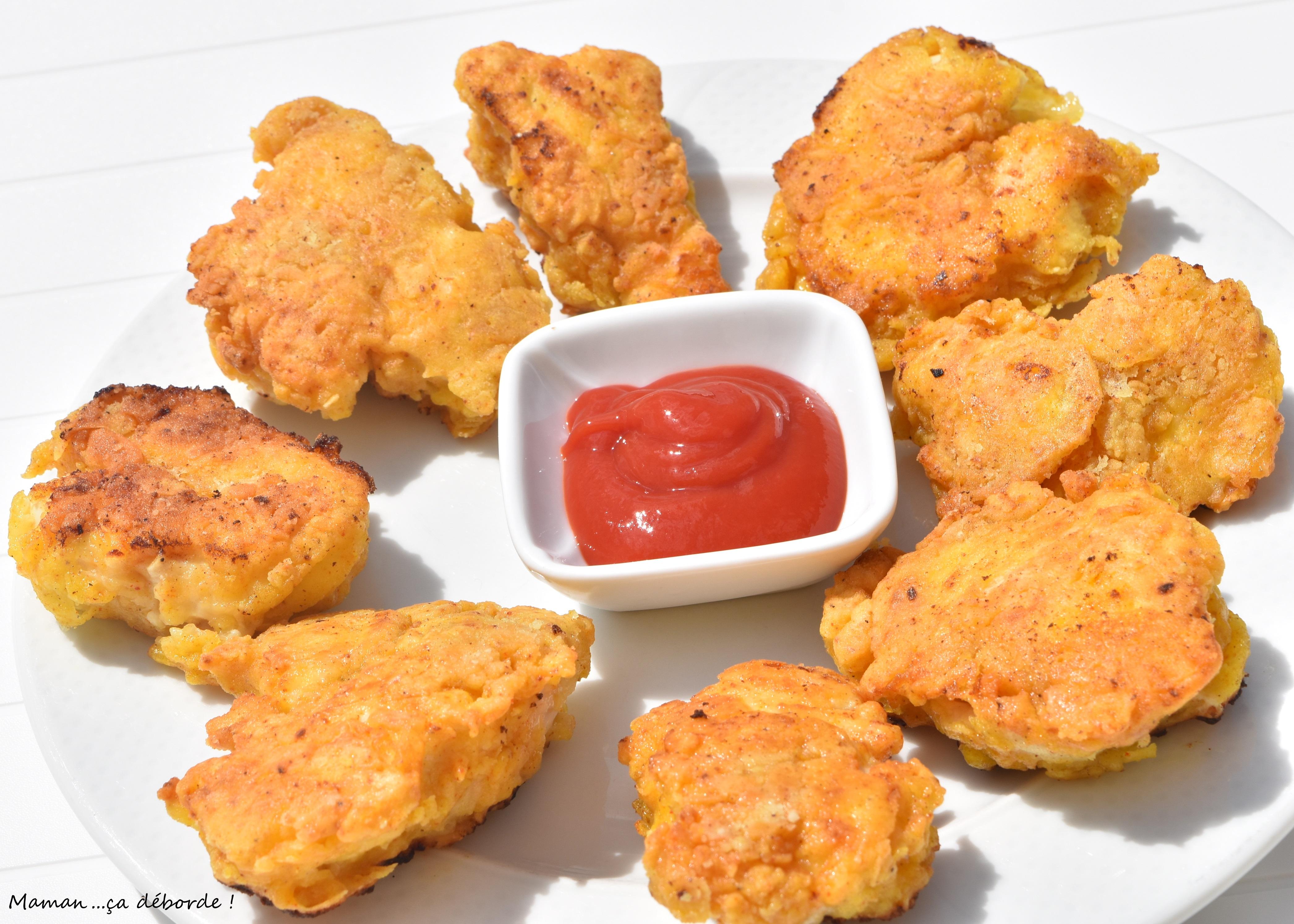 Nuggets de poulet façon USA3