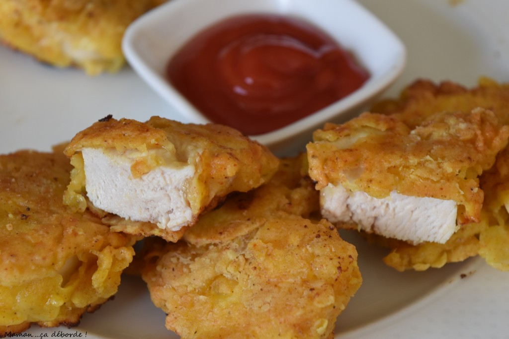 Nuggets de poulet façon USA5