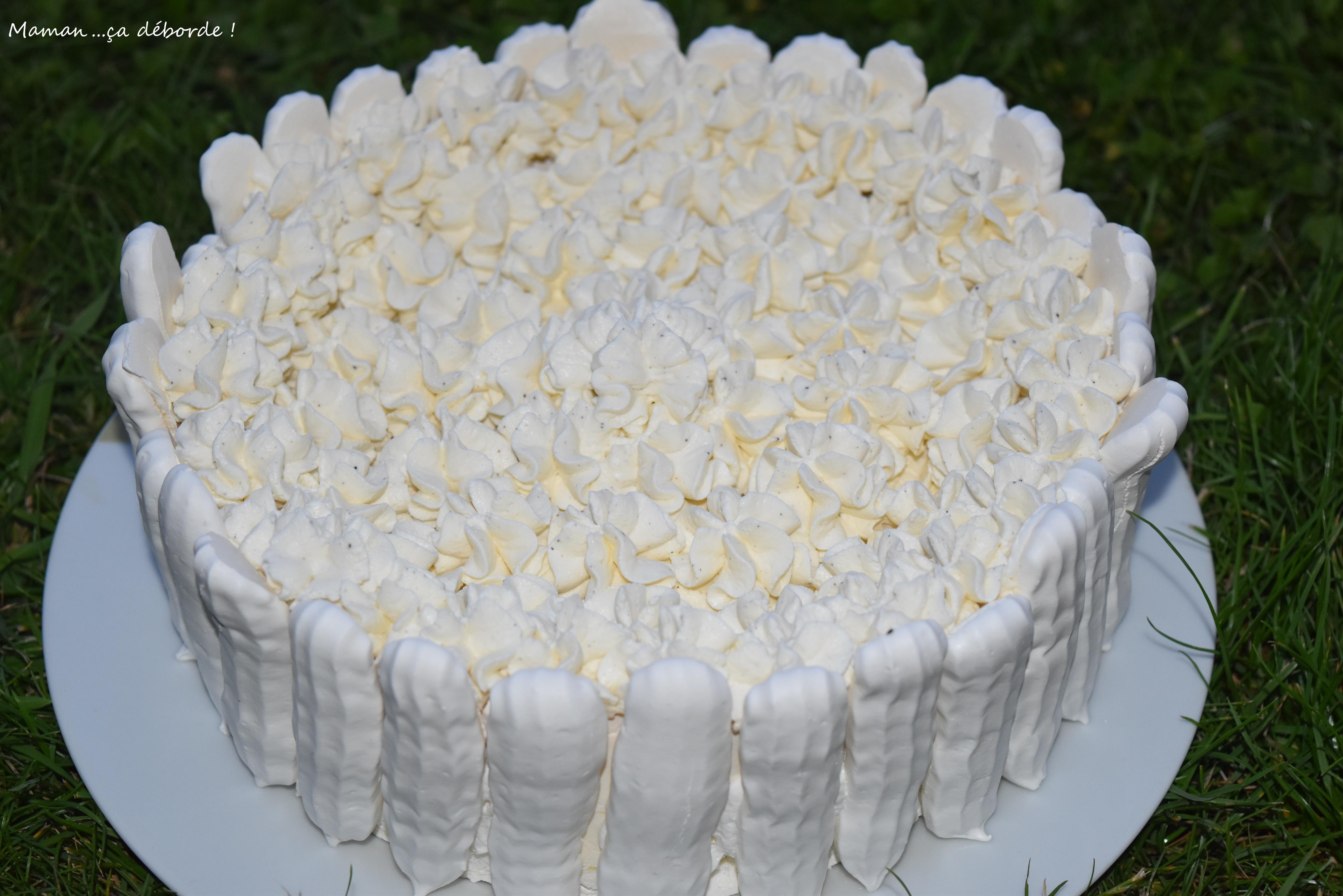 Vacherin glacé à la vanille10