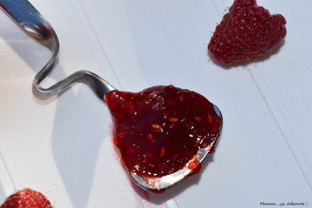 Confiture framboise, poivron et piment d'Espelette