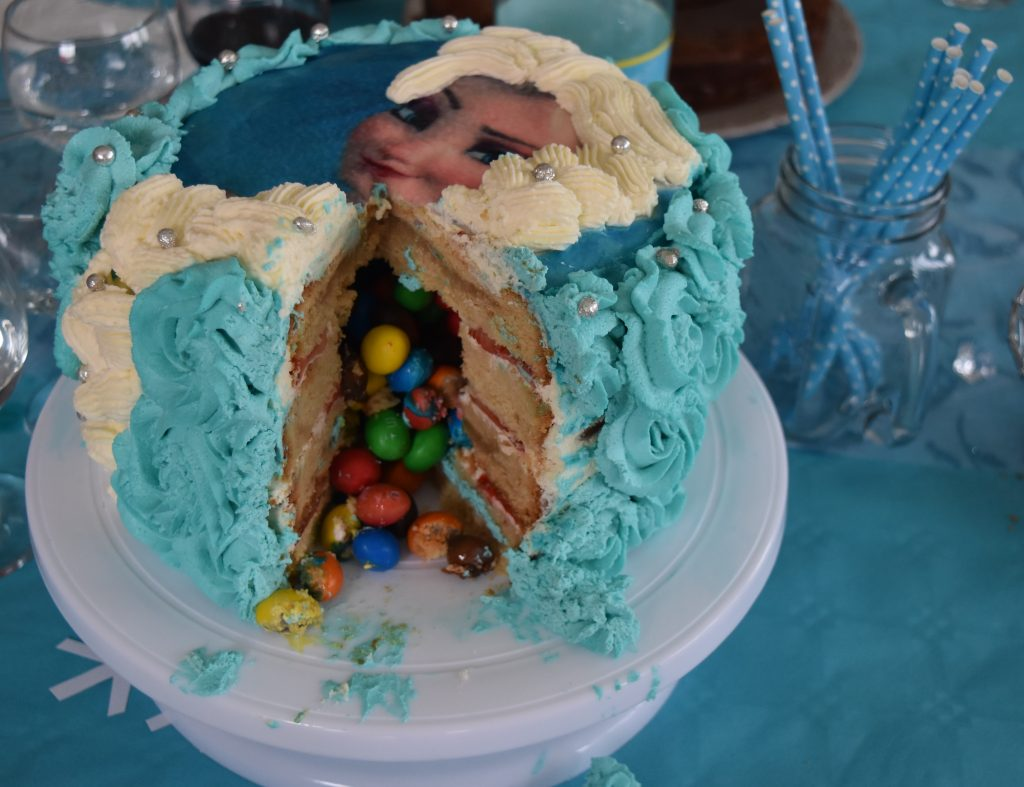 Gâteau Reine des Neiges11