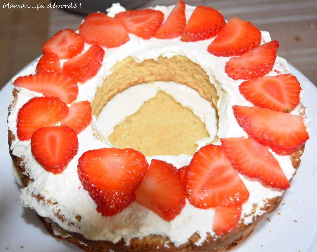 Gâteau Reine des Neiges4