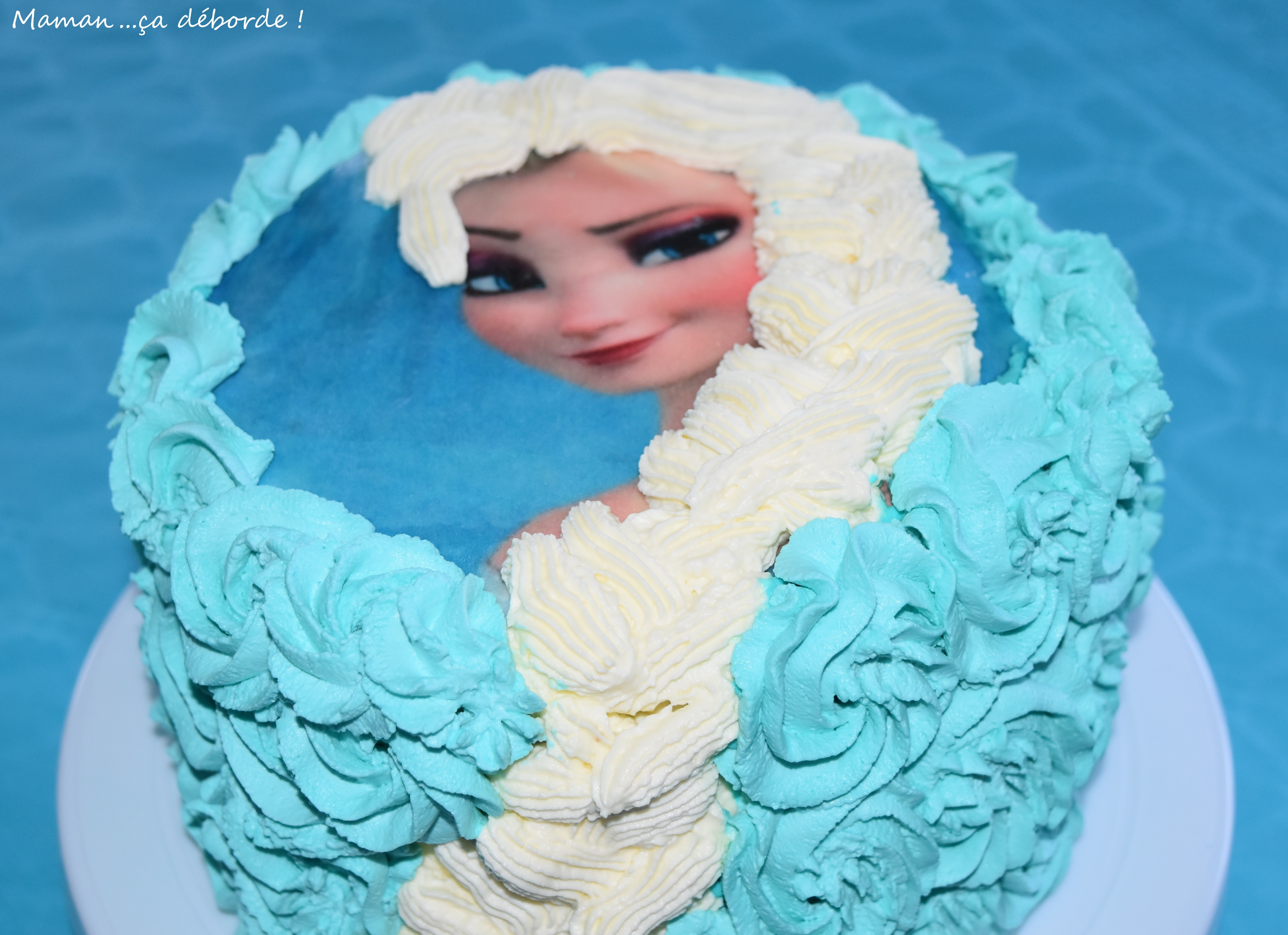 Gâteau Reine des Neiges7
