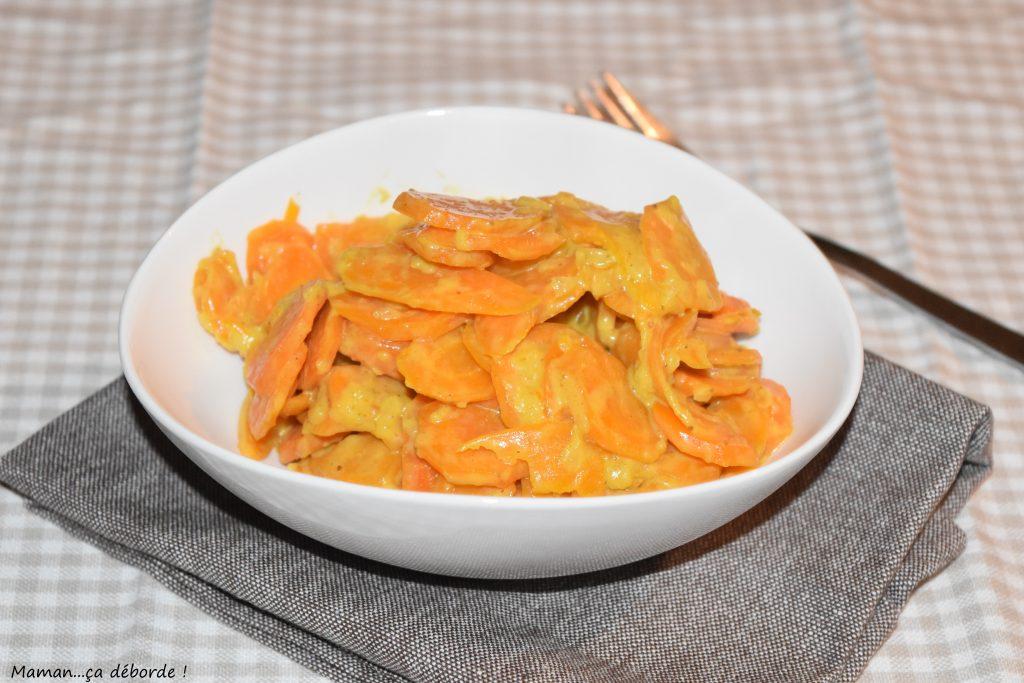 curry de carottes au lait de coco maman a d borde. Black Bedroom Furniture Sets. Home Design Ideas