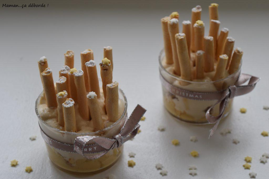 Forêt de meringues 100 % caramel