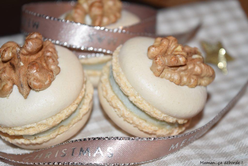 Macarons au roquefort