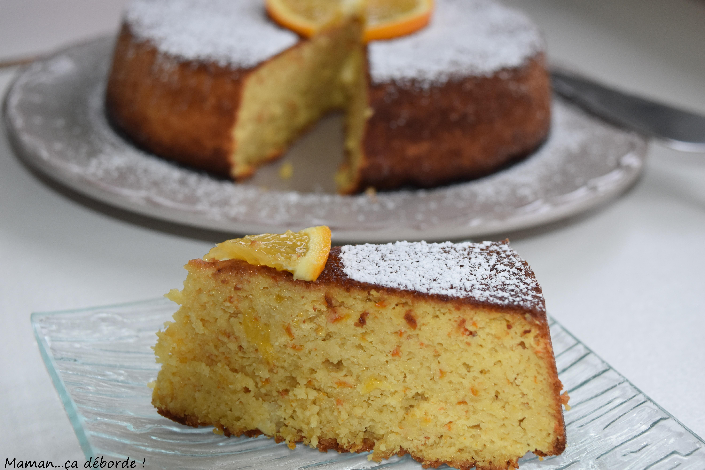 Gâteau à l'orange sans gluten2