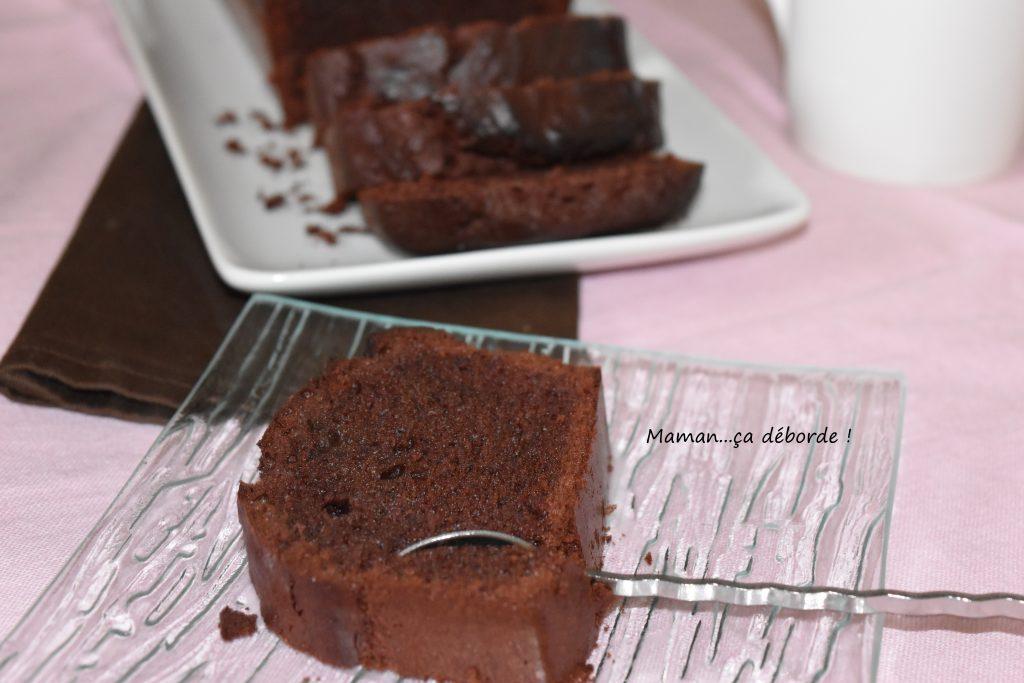 Cake au chocolat noir (IG bas)