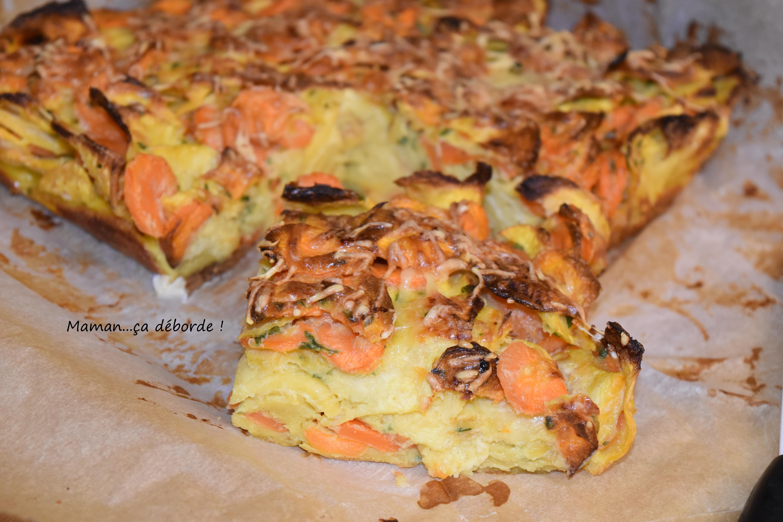 Gâteau invisible navet carotte