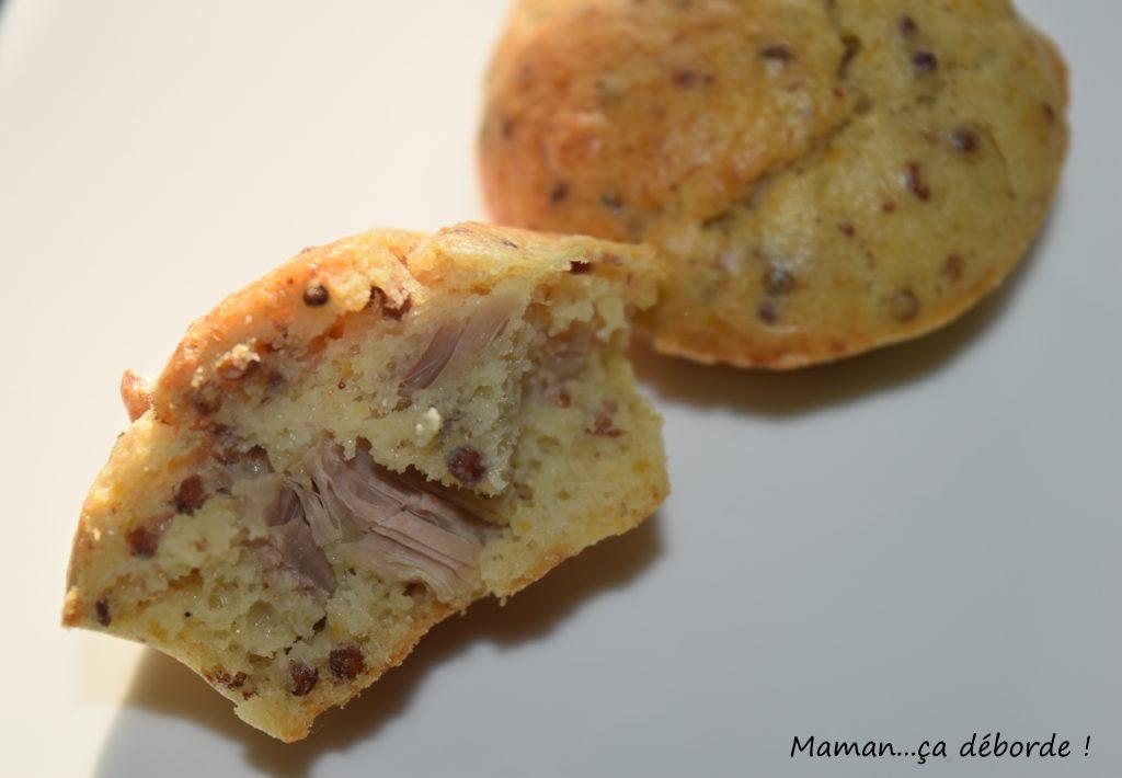 Muffins au thon et moutarde à l'ancienne3