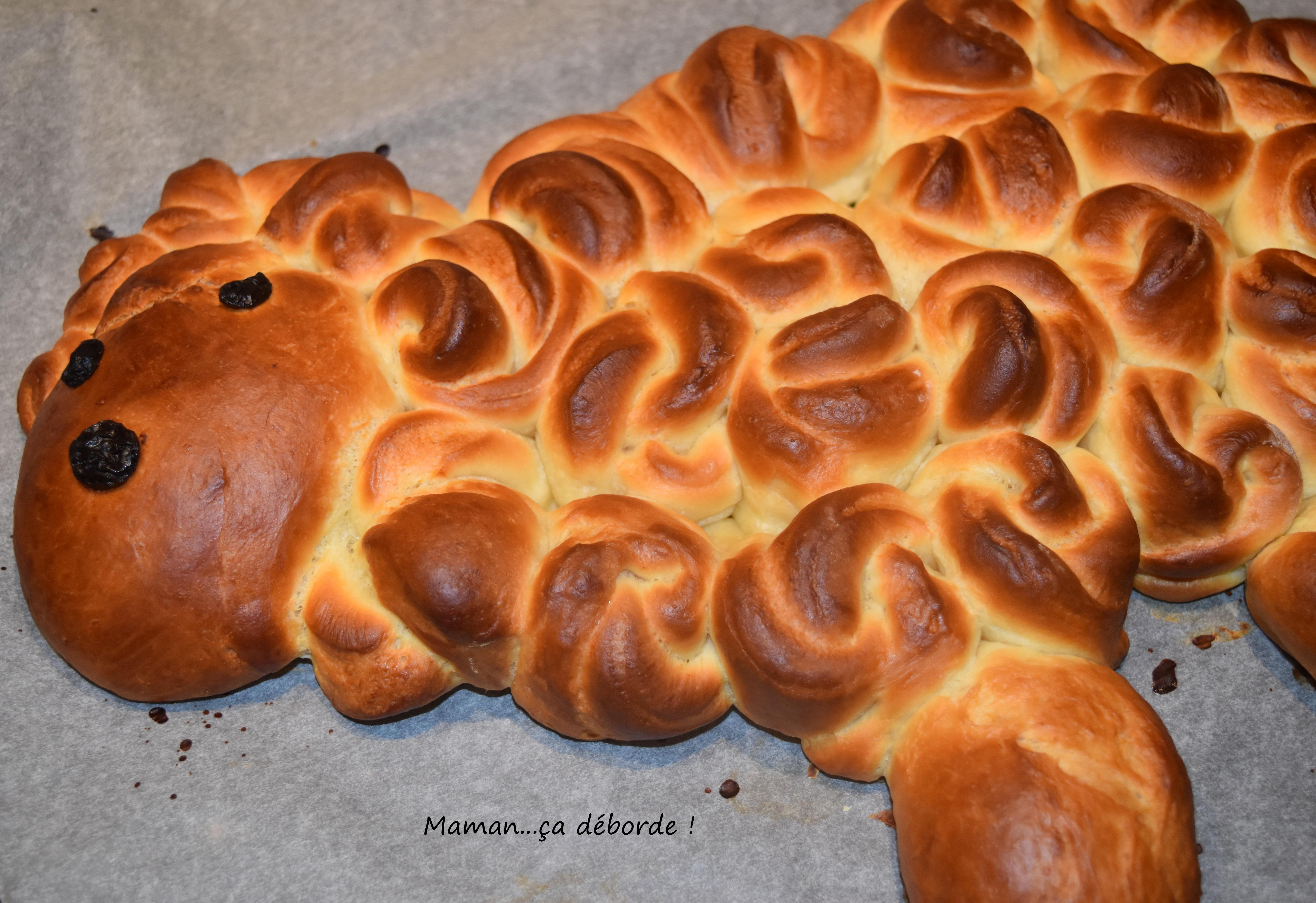 Agneau brioché de Pâques9