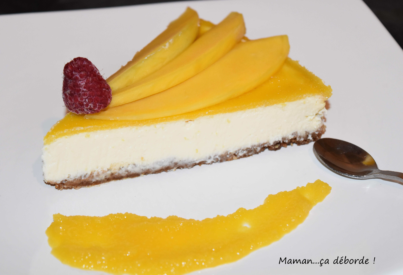 Cheesecake à la mangue5