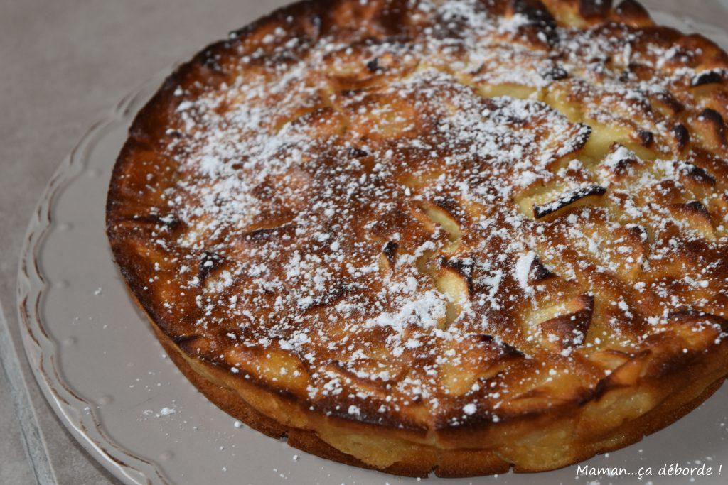 Gâteau aux pommes sans oeuf