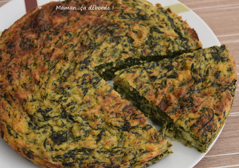 Gâteau d'épinard et maquereau1