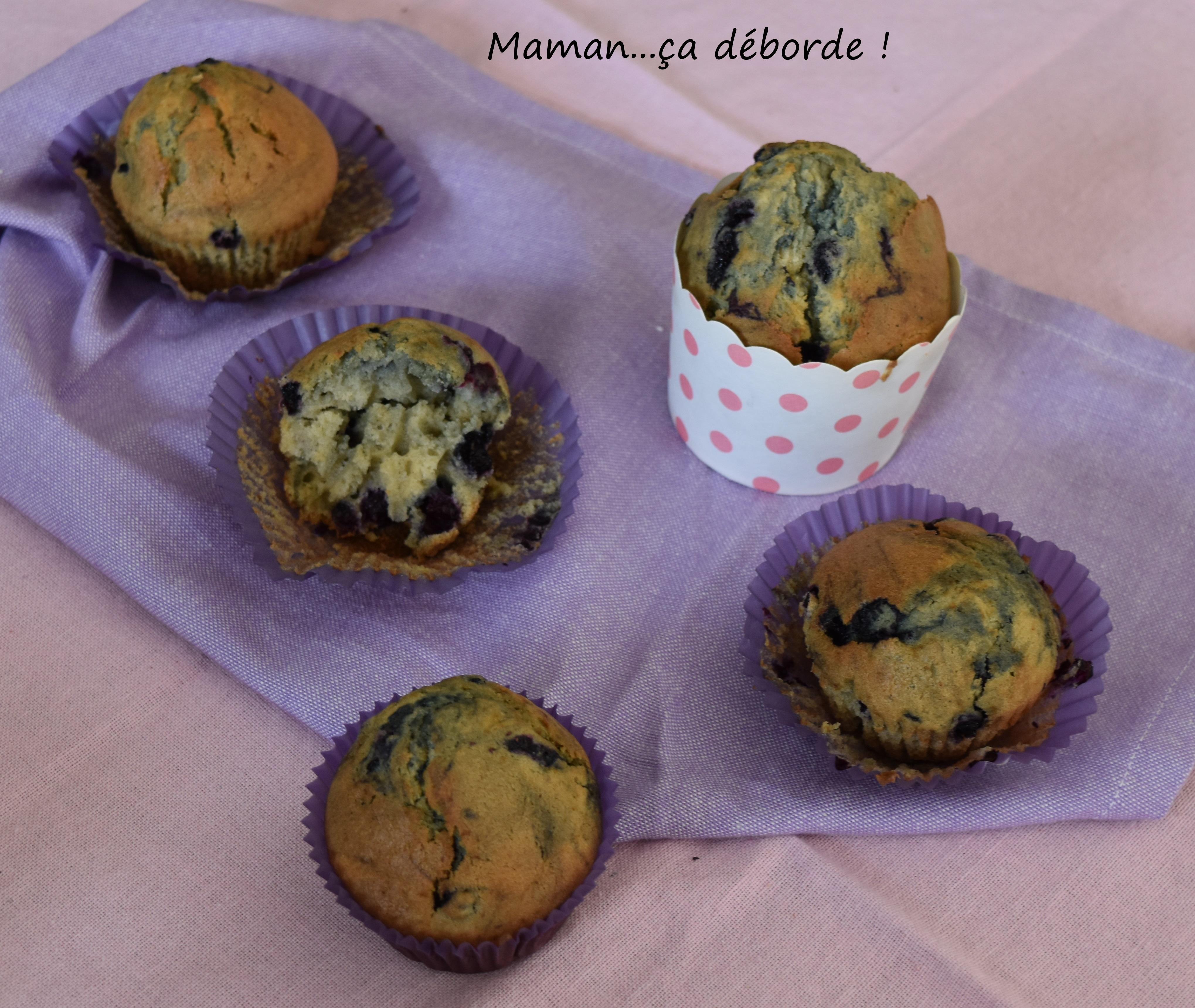 Muffins à la myrtille1