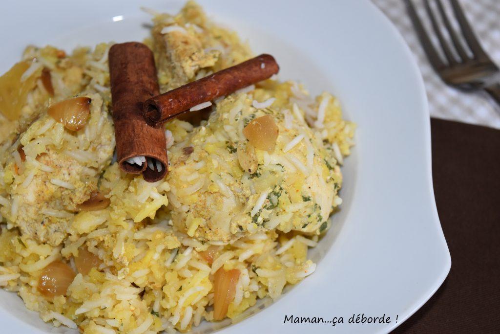 Poulet biryani blogs de cuisine - Cuisine indienne biryani ...