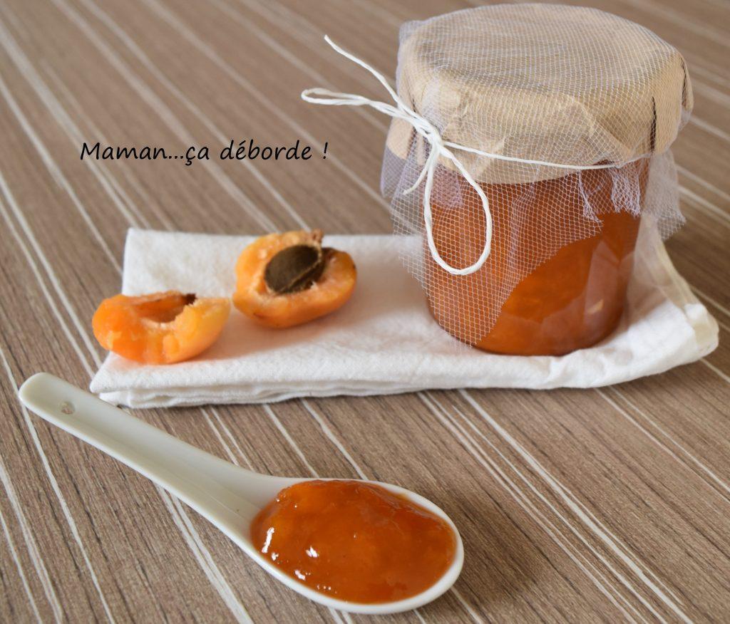 Confiture à l'abricot