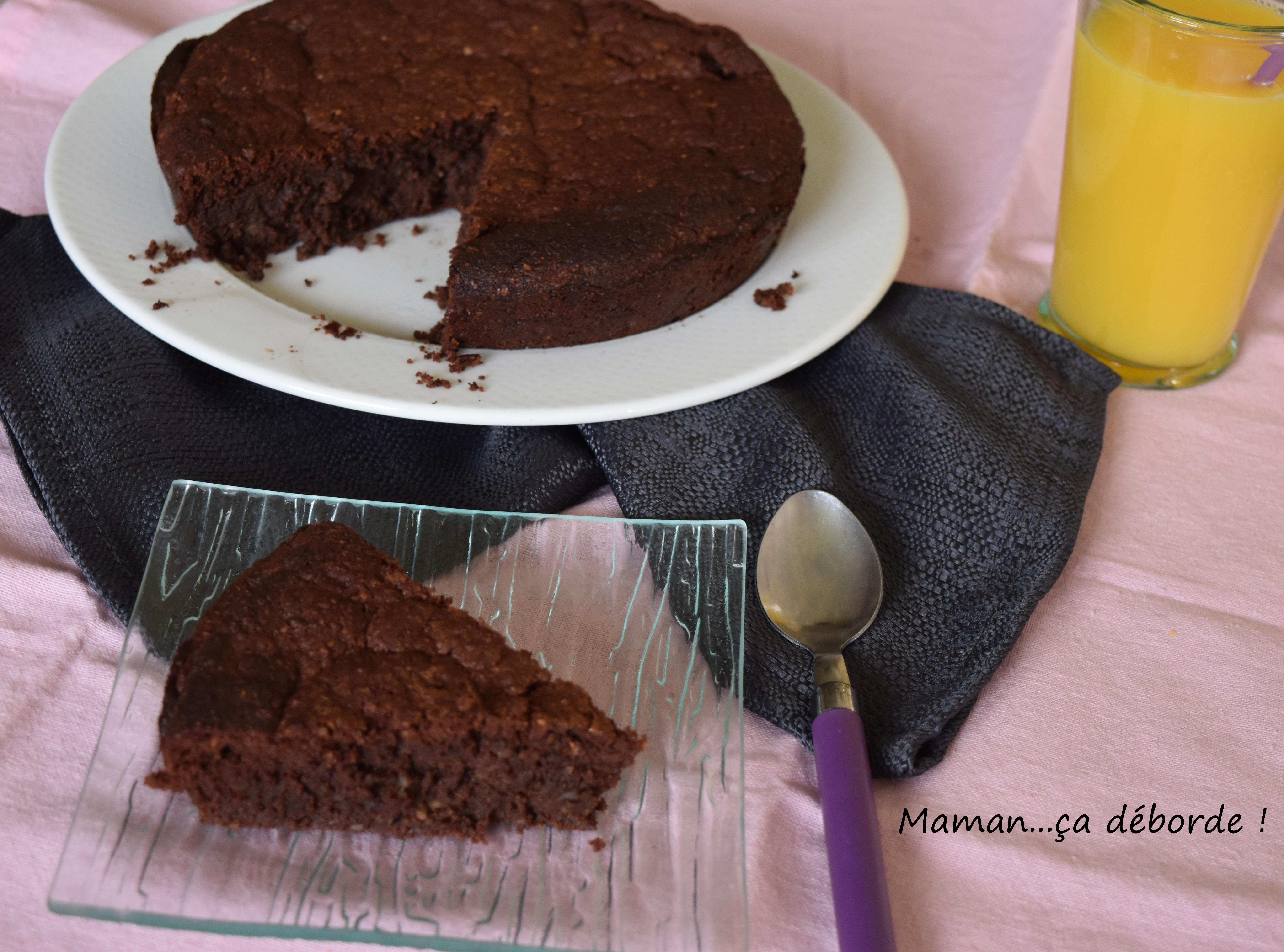 Gâteau chocolat et pomme de terre (sans gluten)2