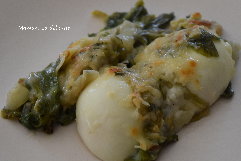 Gratin de salade cuite et oeufs durs2