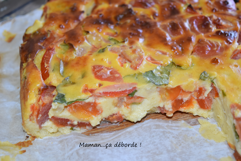 Clafoutis tomate ricotta basilic4