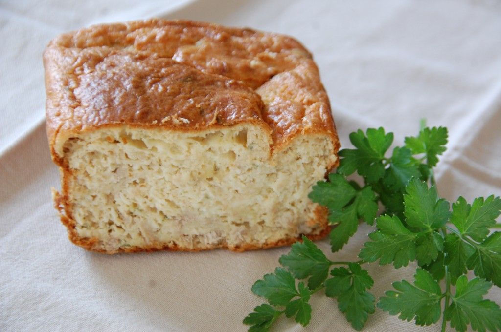 Cake Au Thon Et Petit Legumes