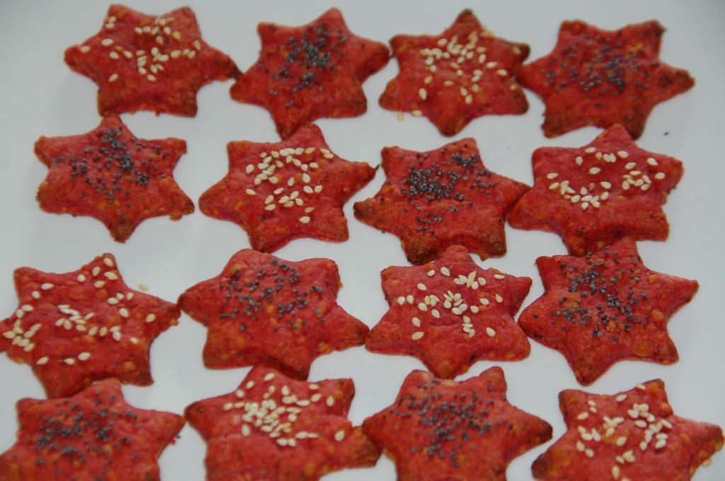 Crackers à la betterave