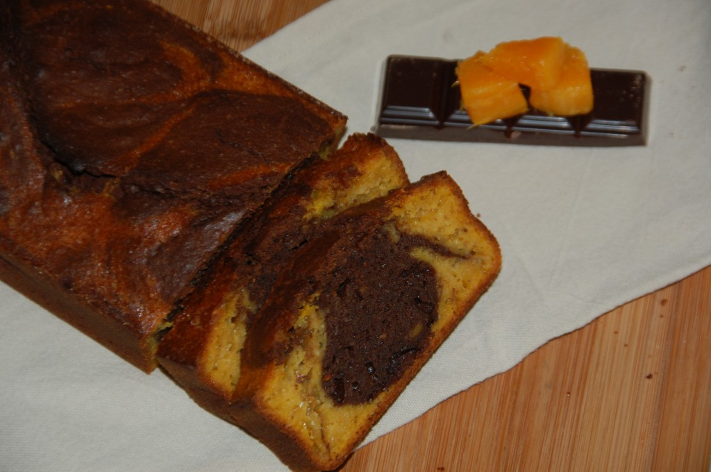 Marbré courge butternut chocolat