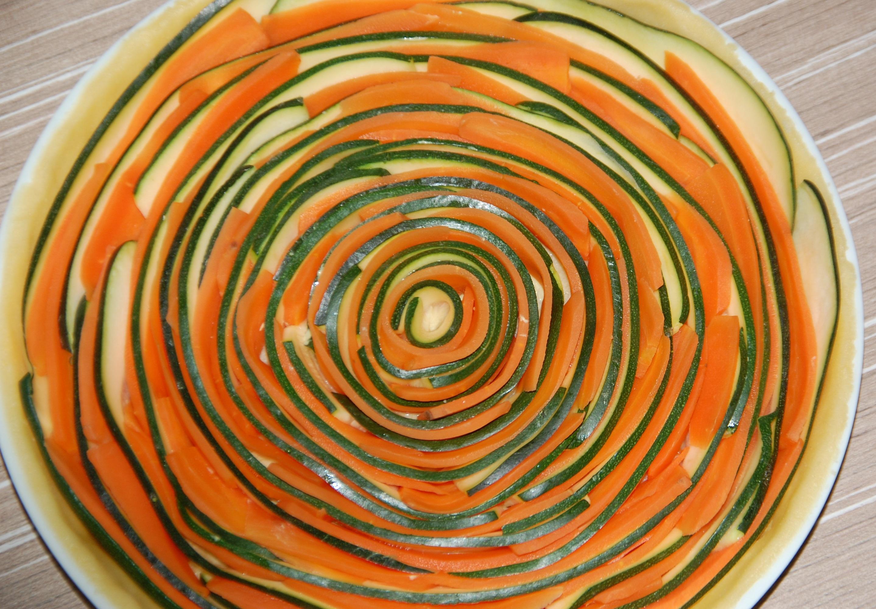 Gateau aux carottes et zucchini