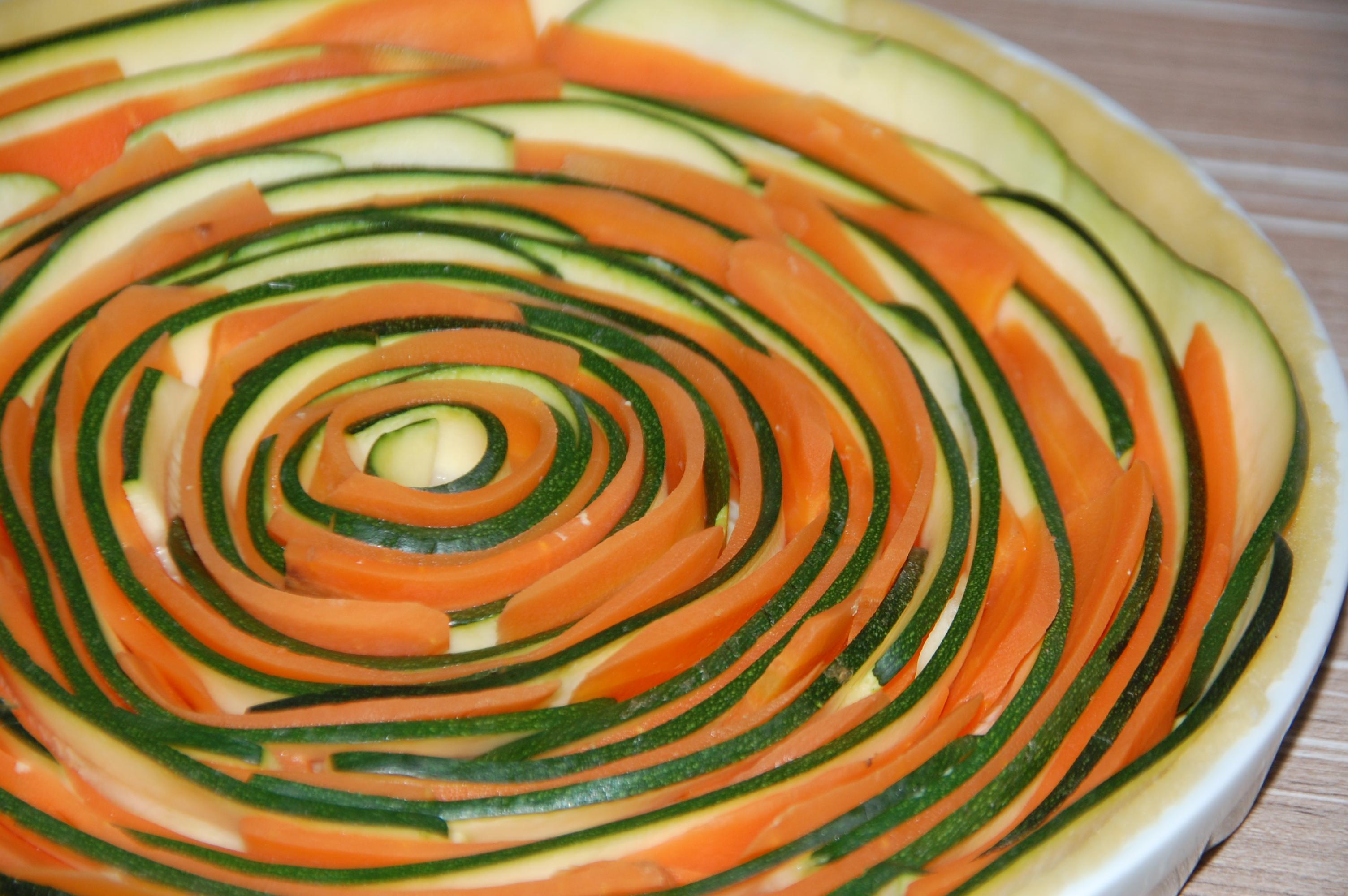 tarte spirale courgettes et carottes maman a d borde. Black Bedroom Furniture Sets. Home Design Ideas